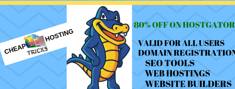 Hostgator 80% off