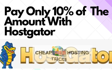 Hostgator 90% off discount