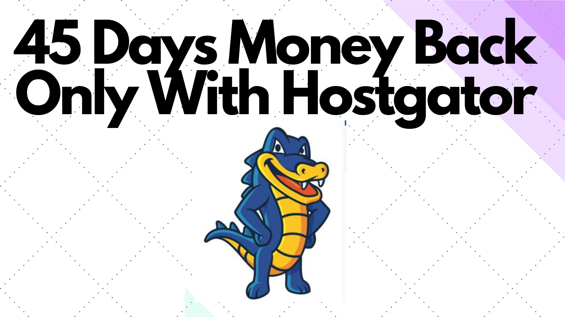 Hostgator 90% off discount, Return policy