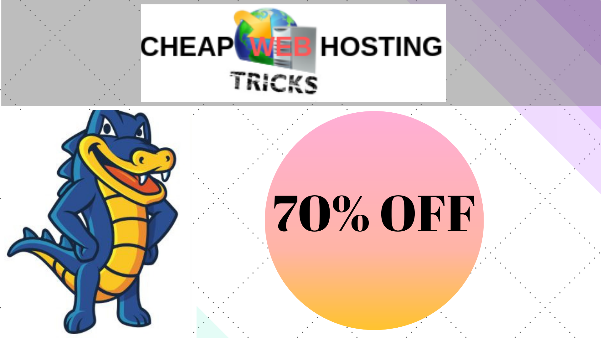 Hostgator 70% off